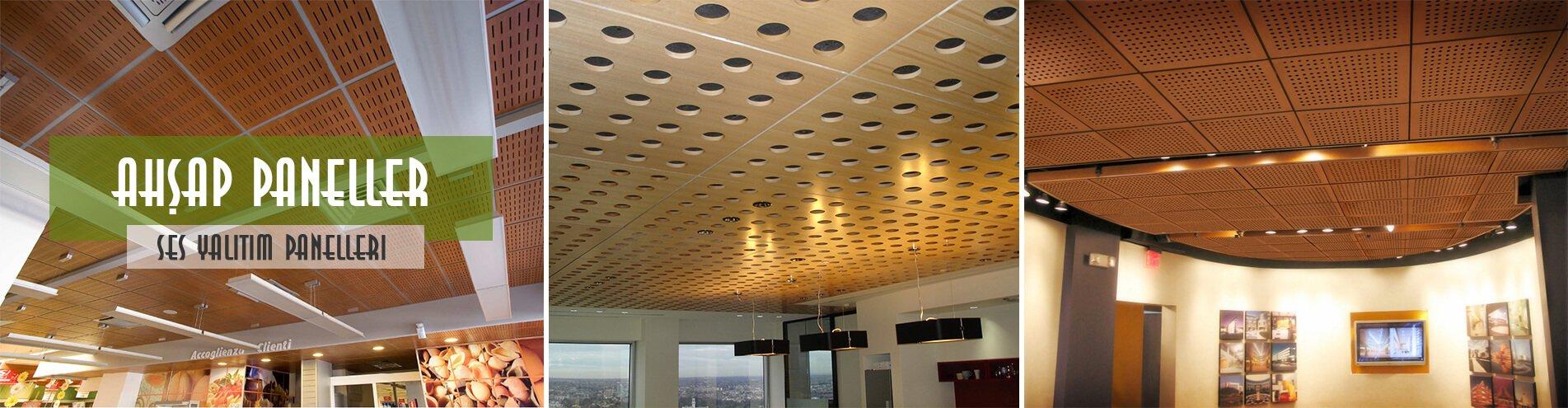 Akustik ahşap kaplama ses yalıtım panelleri